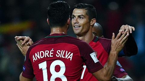 Ander Silva được ví như CR7 thứ hai của bóng đá Bồ Đào Nha.