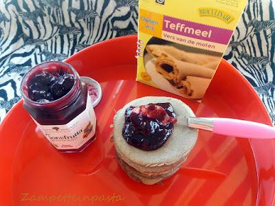 Pancake con farina di Teff - Pancake senza glutine