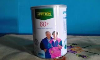Beli Susu Appeton  60+ Untuk Lansia agar tubuhnya tercukupi asupan nutrisi harian