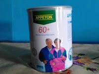 Pengalaman Beli Susu Appeton  60+ Untuk Lansia ( Lebih Murah Beli Online )