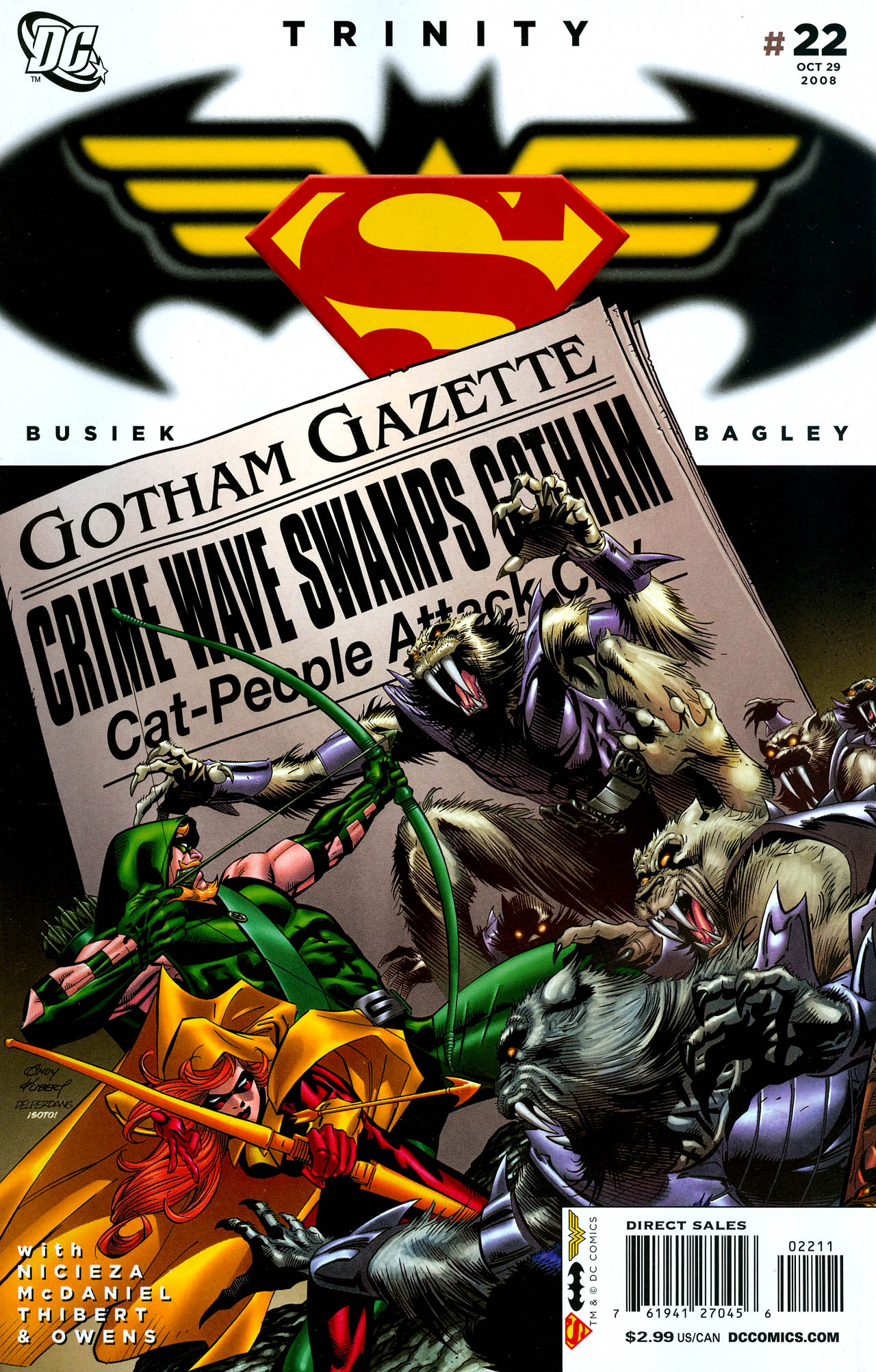 Read online Trinity (2008) comic -  Issue #22 - 1