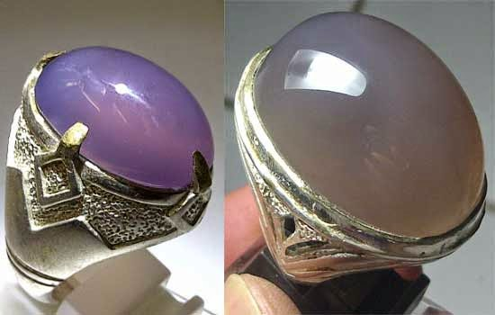 2. Batu Akik Lavender