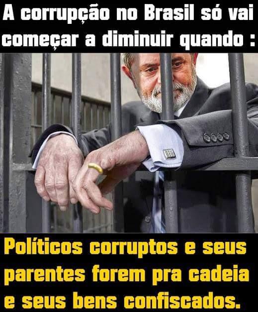 Resultado de imagem para LULA LADRAO POLITICO NÃO VAI CADEIA