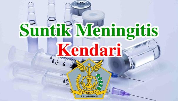Alamat Tempat Suntik Vaksin Meningitis di Kendari