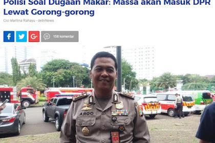 """Bantah Tuduhan Polisi Soal Makar Gorong-gorong, TPM Berkelakar: """"Emangnya Tikus!"""""""