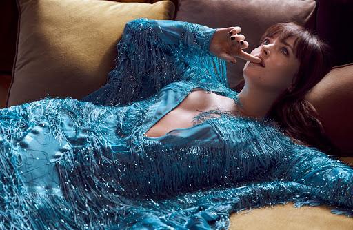 Dakota Johnson sexy fashion model photoshoot