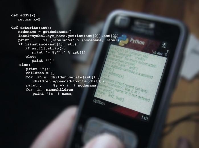 Pelatihan Python, Perl, dan C++