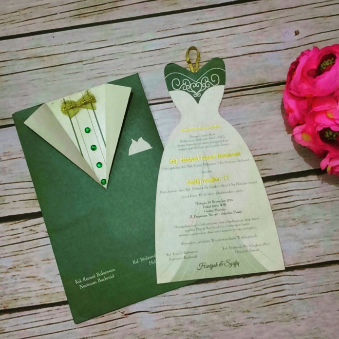 30 Contoh Undangan Pernikahan Unik Dan Elegan Meenikah Com