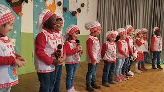 Actuación de Navidad 2017. Infantil 4 Años.