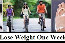 Lose Weight One Week, Consider the Following Patterns