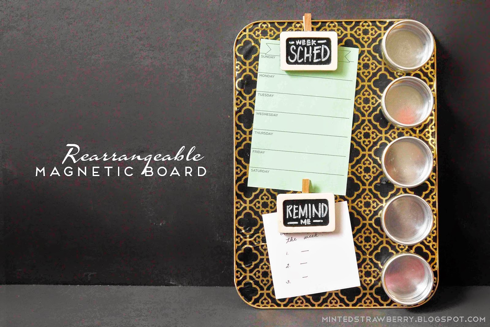 Diy Rearrangeable Magnetic Board A Consumer Crafts Prize Pack