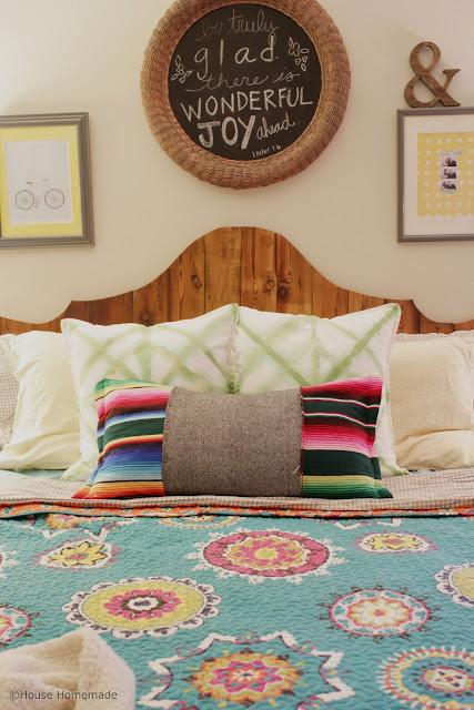 Shibori dyed pillow knock off