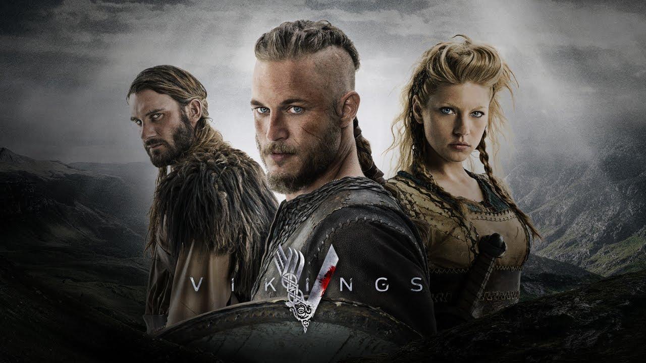Imagen promocional de Vikings.