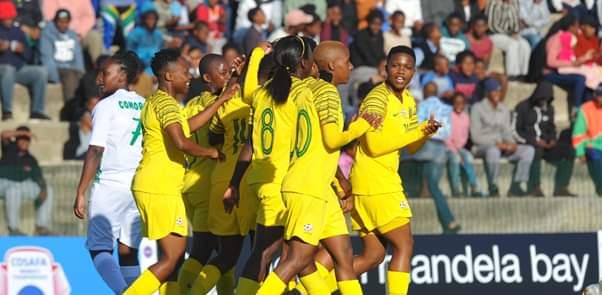 Banyana Banyana - COSAFA Women's Championship - South Africa - Celebrating a goal