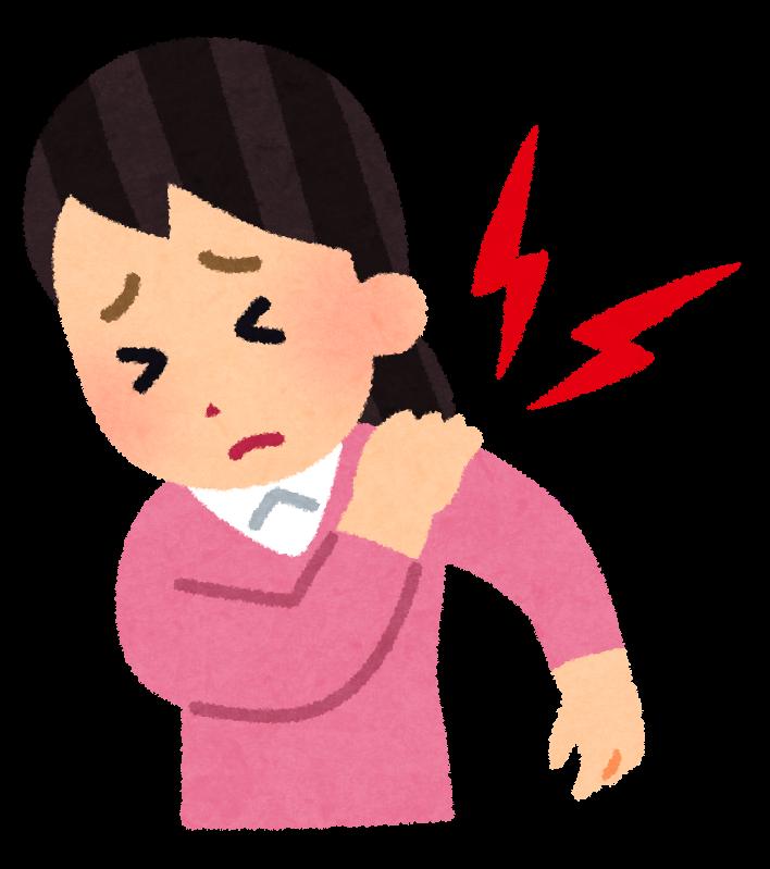 図:脳卒中のあとの肩の痛み