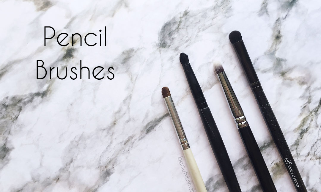 The 3 Essential Eyeshadow Brushes That You Need - pencil brushes