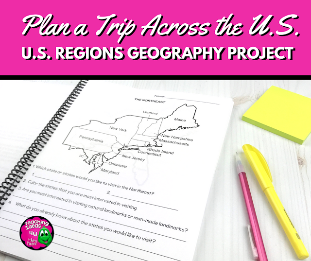 Learn Geography While Planning A Trip Across the U.S.A.