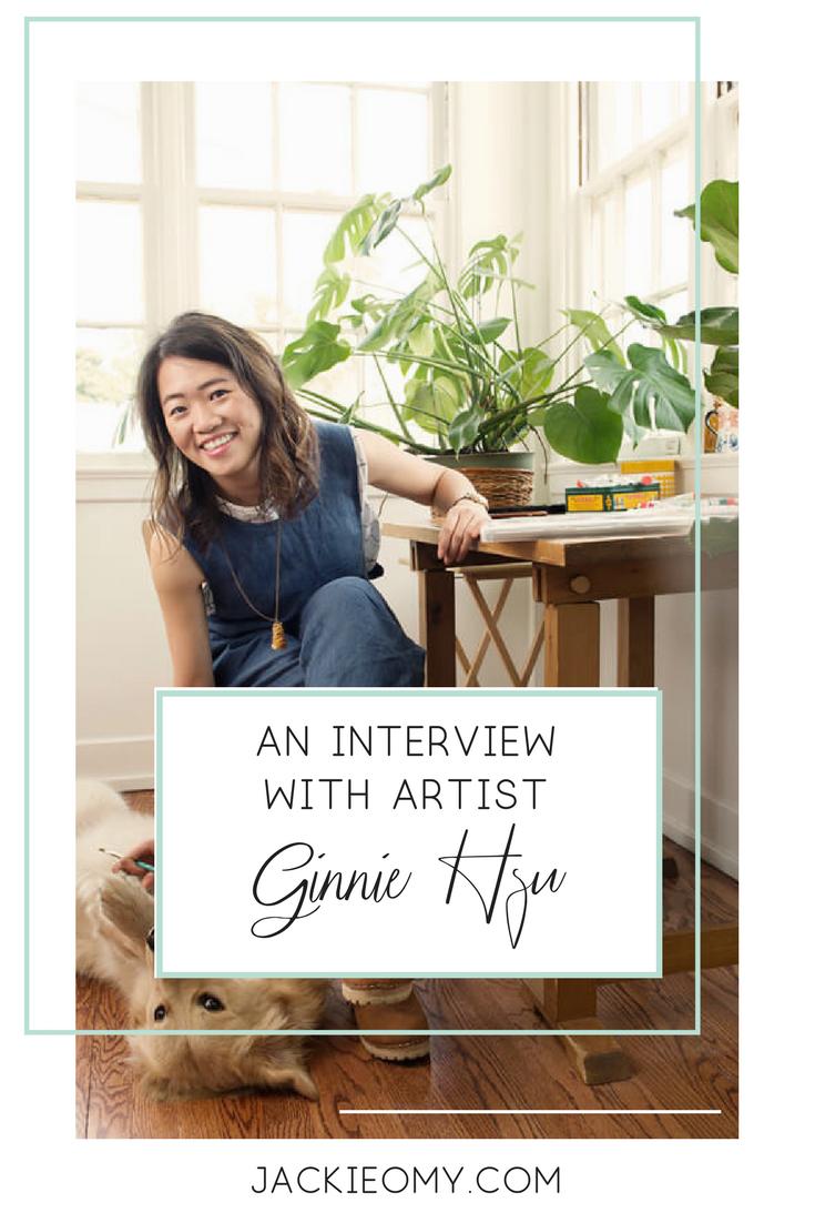 Interview with an artist: Ginnie Hsu - Jackie O My