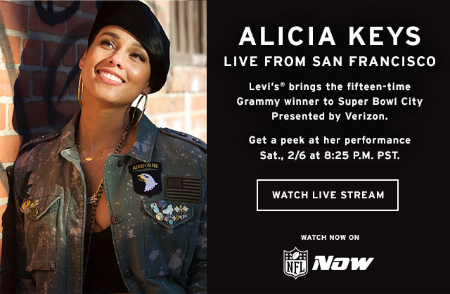 Alicia Keys San Francisco February 2016