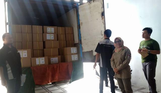 Logistik Pemilu di gudang KPU