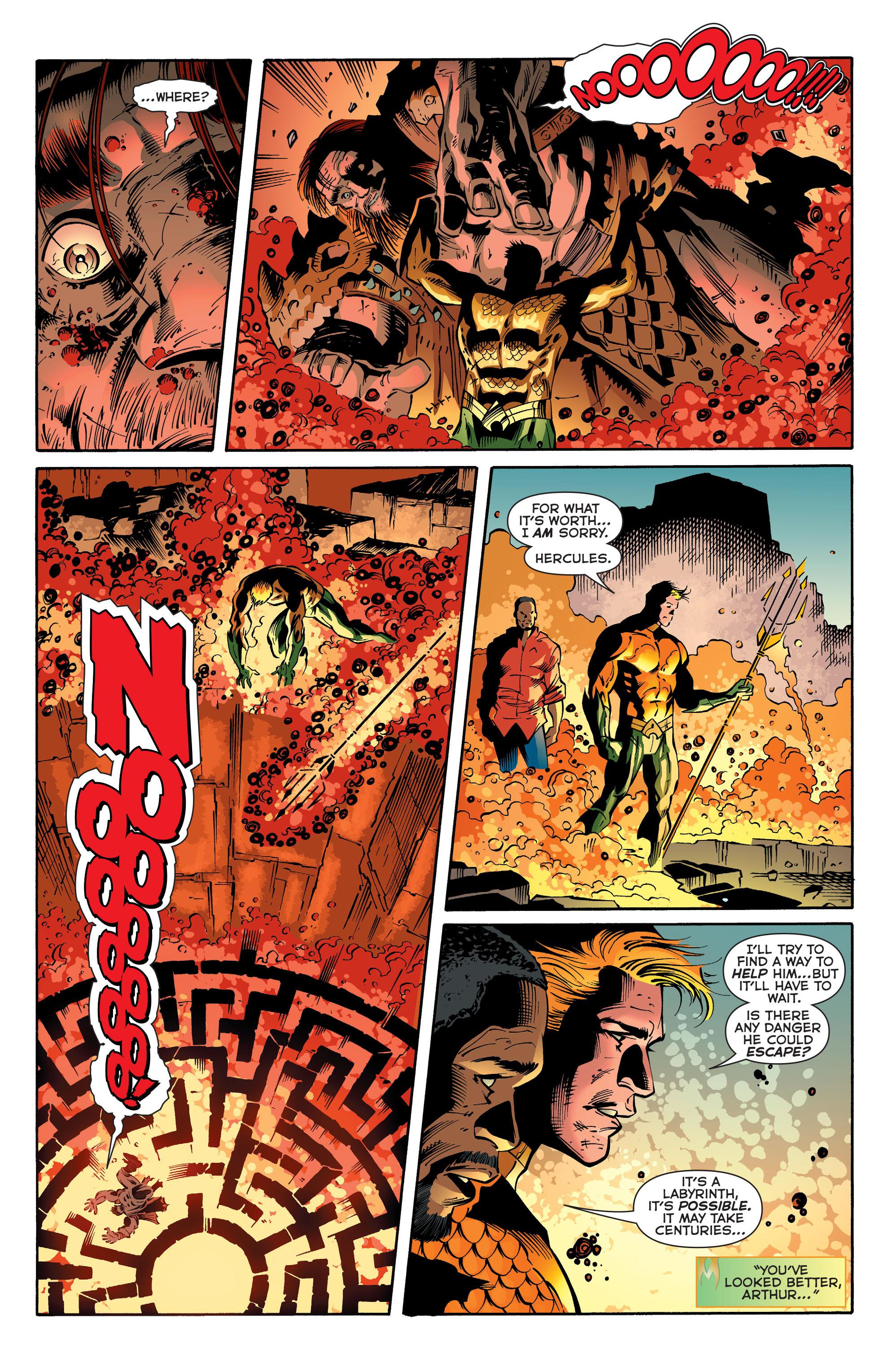 Read online Aquaman (2011) comic -  Issue #30 - 19