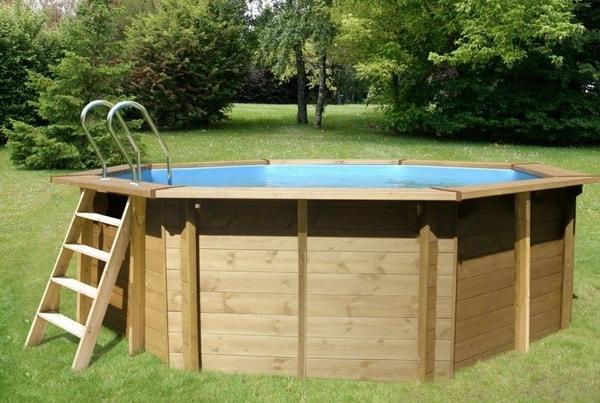 Marzua piscinas de madera for Piscina madera carrefour