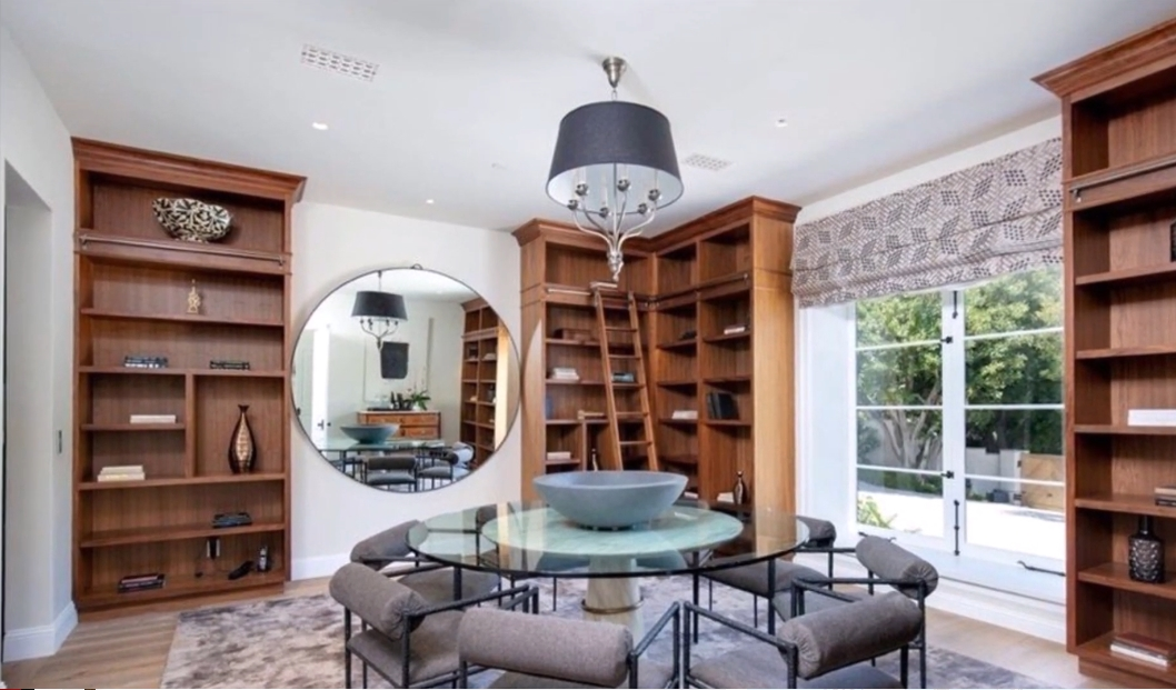 12 Photos vs. Justin Bieber & Hailey Baldwin $25.8 Million Beverly Park Mansion Interior Design Tour