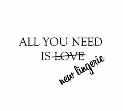 Todo lo que necesitas es..-nueva lencería de Sensualité