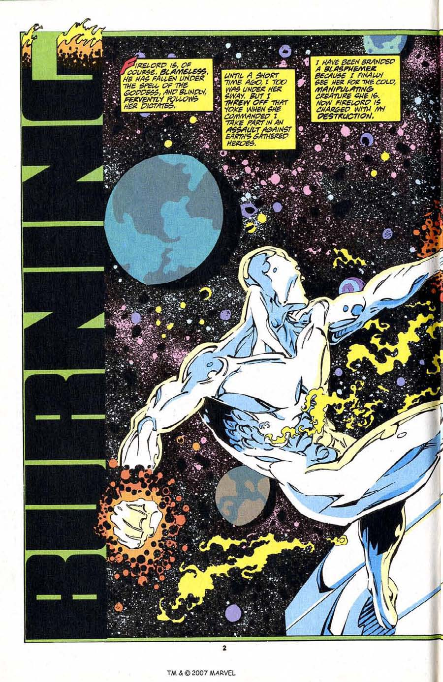 Read online Silver Surfer (1987) comic -  Issue #83 - 4