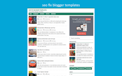 Seo Fix Blogger Templates
