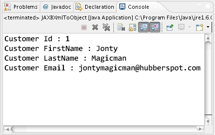 How to convert a Xml to Java Object using JAXB API and Annotations