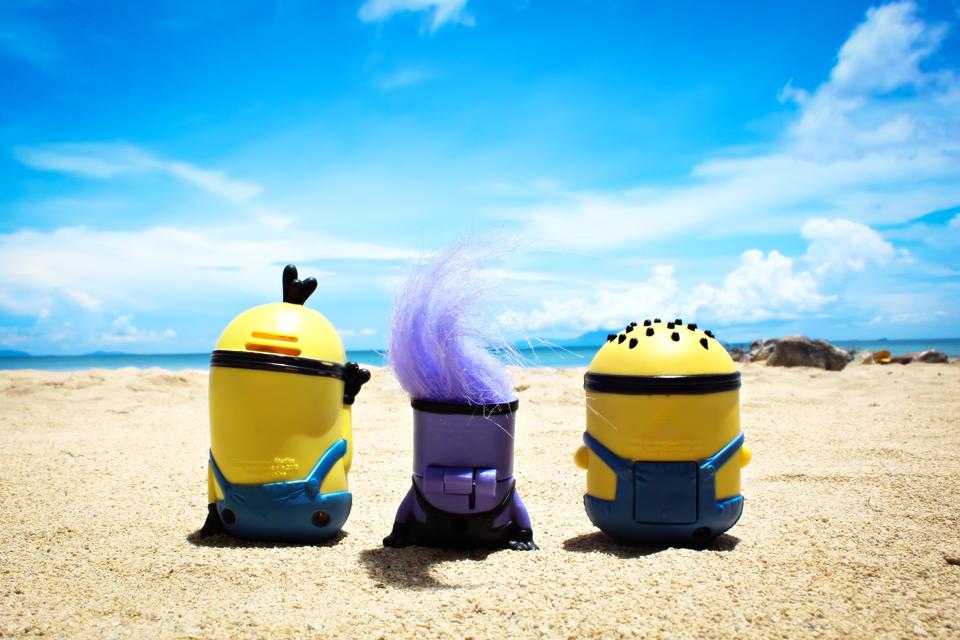 The Minions At Burot Beach