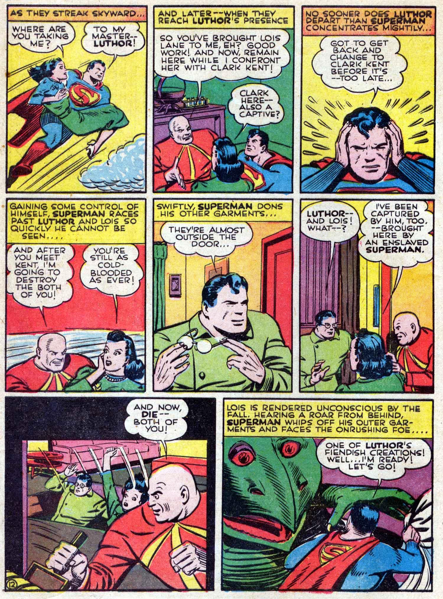 Action Comics (1938) 42 Page 12