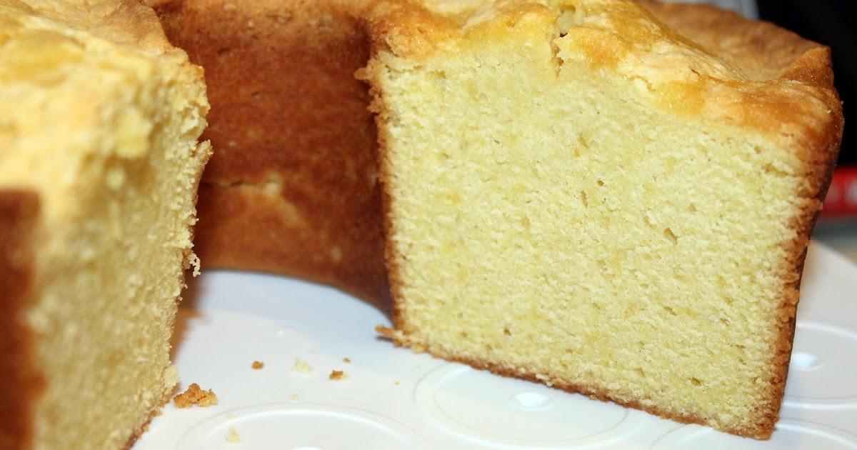 Old Fashioned Pound Cake No Vanilla Flavoring