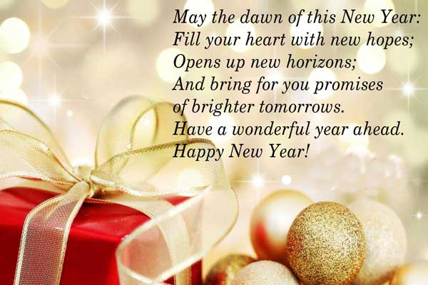 Happy New Year Wishes 2018 - Happy New Year Pictures
