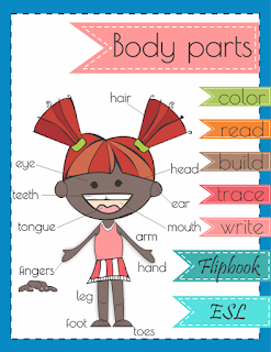 https://www.teacherspayteachers.com/Product/Body-Parts-Flip-Book-2836738