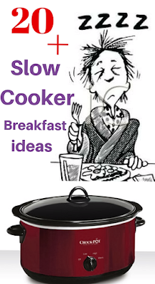 Waking up to breakfast is awesome! Here are over twenty different breakfast ideas you can make in the crockpot slow cooker. Our favorite is the Ultimate Breakfast Casserole. Plug in before bed and wake up to awesomeness!