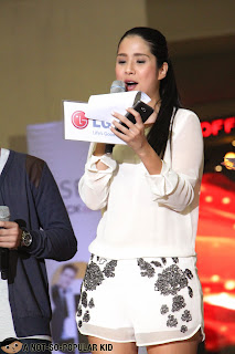Maxene Magalona in LG Product Launch