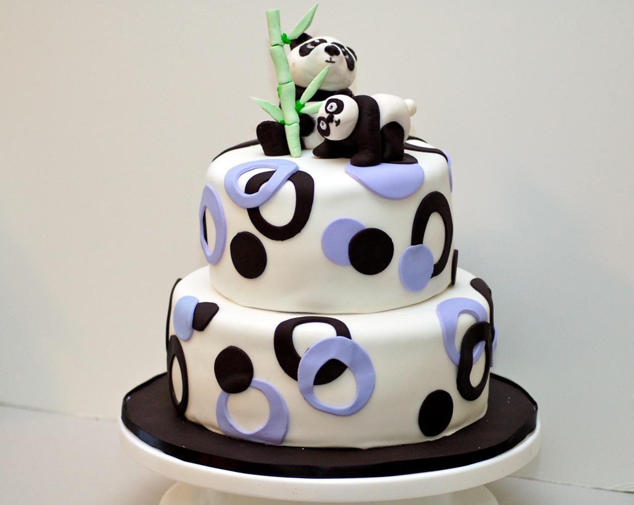 Panda Bear Cake Designs