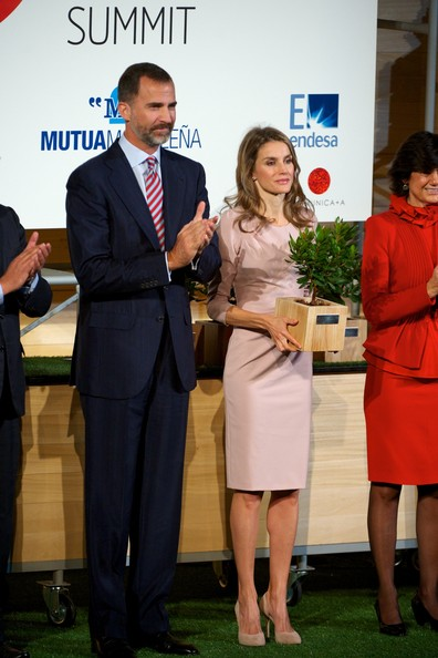 Prince Felipe and Princess Letizia attended the StartUp Competition awards in Madrid