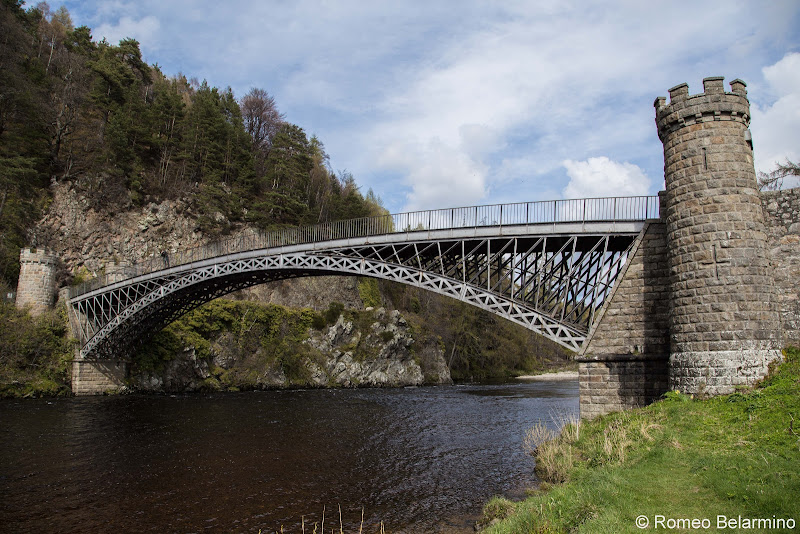 Craigellachie Bridge Scottish Highlands Road Trip Itinerary