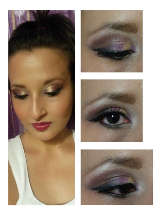 Make Up Sofisticato : Dorato & Viola