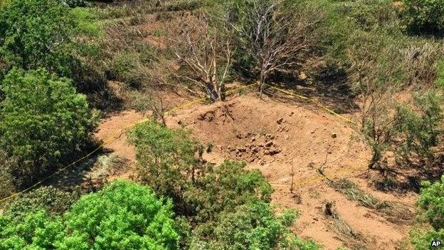 Meteorito caiu na Nicarágua