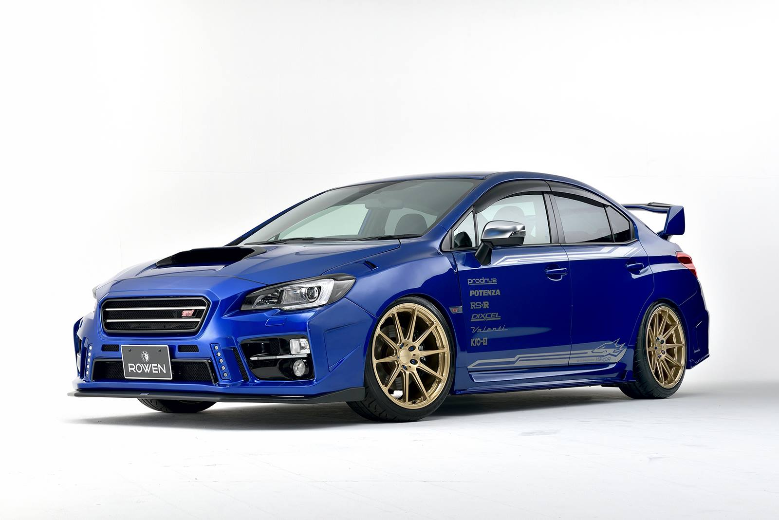 rowen turns subaru wrx sti into a road going rally car carscoops. Black Bedroom Furniture Sets. Home Design Ideas