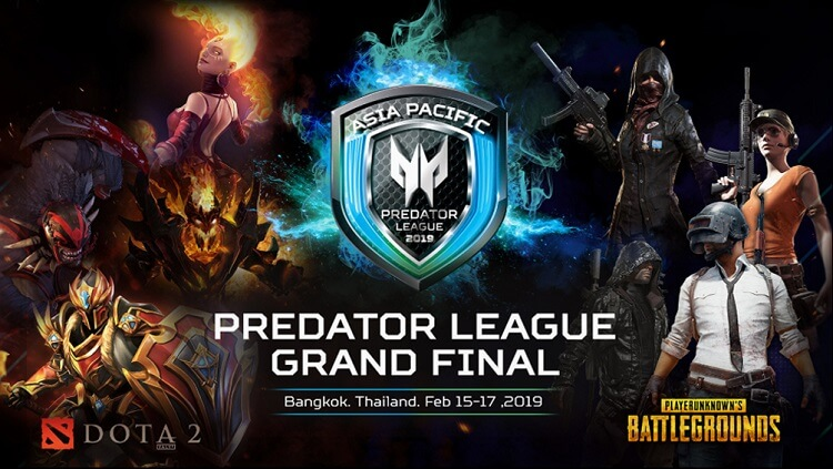 Asia-Pacific Predator League 2019 Tournament Set on February 15 to 17