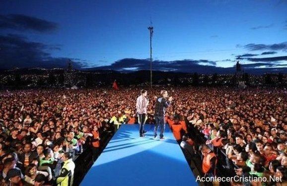 Cruzada evangelística de Luis Palau en Colombia