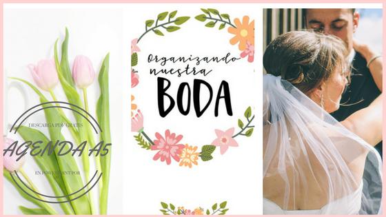 agenda, a5, gratis, boda, planificadores, imprimibles, powerpoint, tutoriales