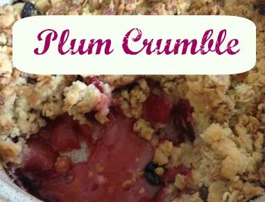 Plum Crumble