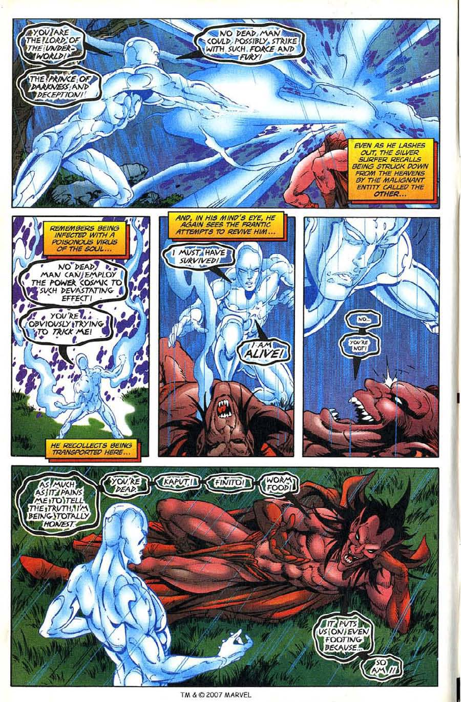 Read online Silver Surfer (1987) comic -  Issue #136 - 6