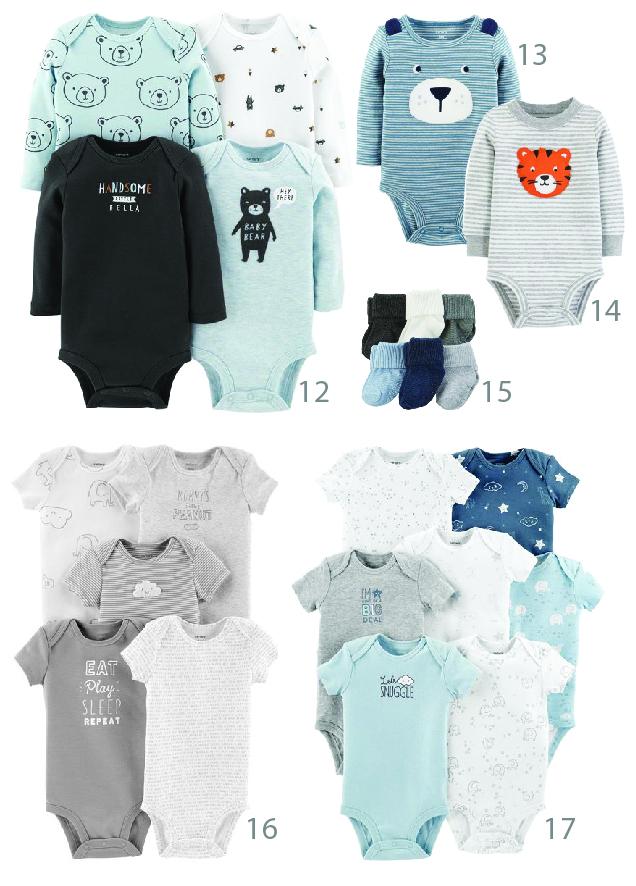 בגדי תינוקות קרטרס